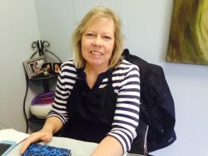 Dee Dee Dewane-The Fringe Salon & Spa's nail technician