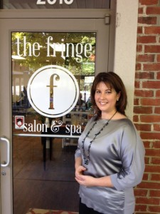 Krisie Saul-Owner & operator of The Fringe Salon & Spa Greensboro NC