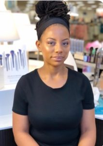 Samella Wallace - Esthetician at The Fringe Salon & Spa Greensboro Samella Wallace is one of our talented licensed estheticians.   She specializes in facials, makeup, and waxing. Samella is also certified in lash extensions.  Book your next appointment with Samella by calling or texting 336-404-8129
